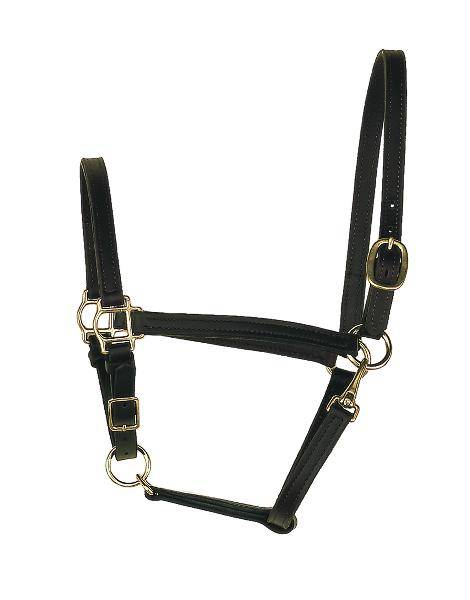 Perris Leather Collection 3/4 in. Leather Turnout Halter