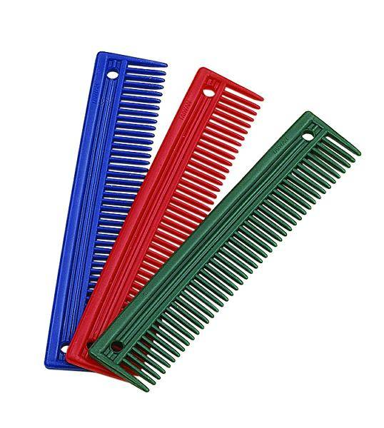 Perris Leather 10in Plastic Mane Comb