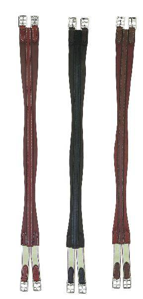 Perris Leather Collection Leather Contour Girth