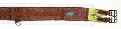 Outlet - Ovation Fleece-Lined Equalizer Girth, 36, Brown