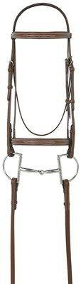 Ovation Raised Fancy Stitched Padded Bridle