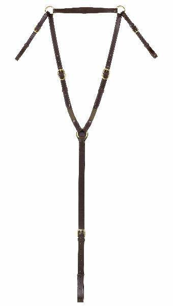 Northampton Leather Strapgoods Hunting Breastplate with Elastic