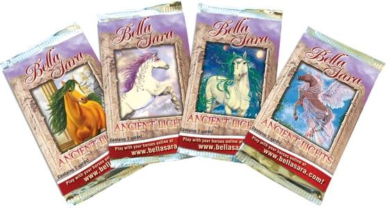 Bella Sara Expansion Set - Ancient Lights - Trading Cards