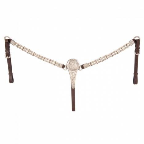 Royal King Rawhide/Ferruled Show Breastcollar