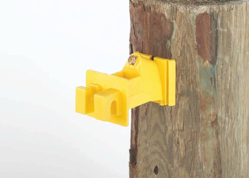 Extend electric fence Wood Post Insulator