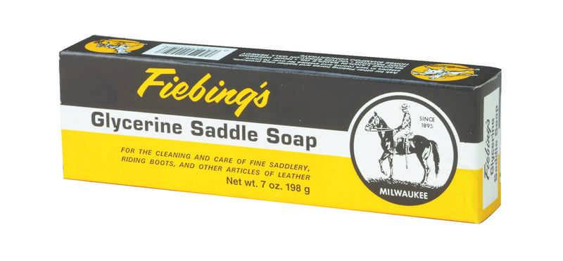 Fiebings Glycerine Saddle Soap Bar - 7 oz. box