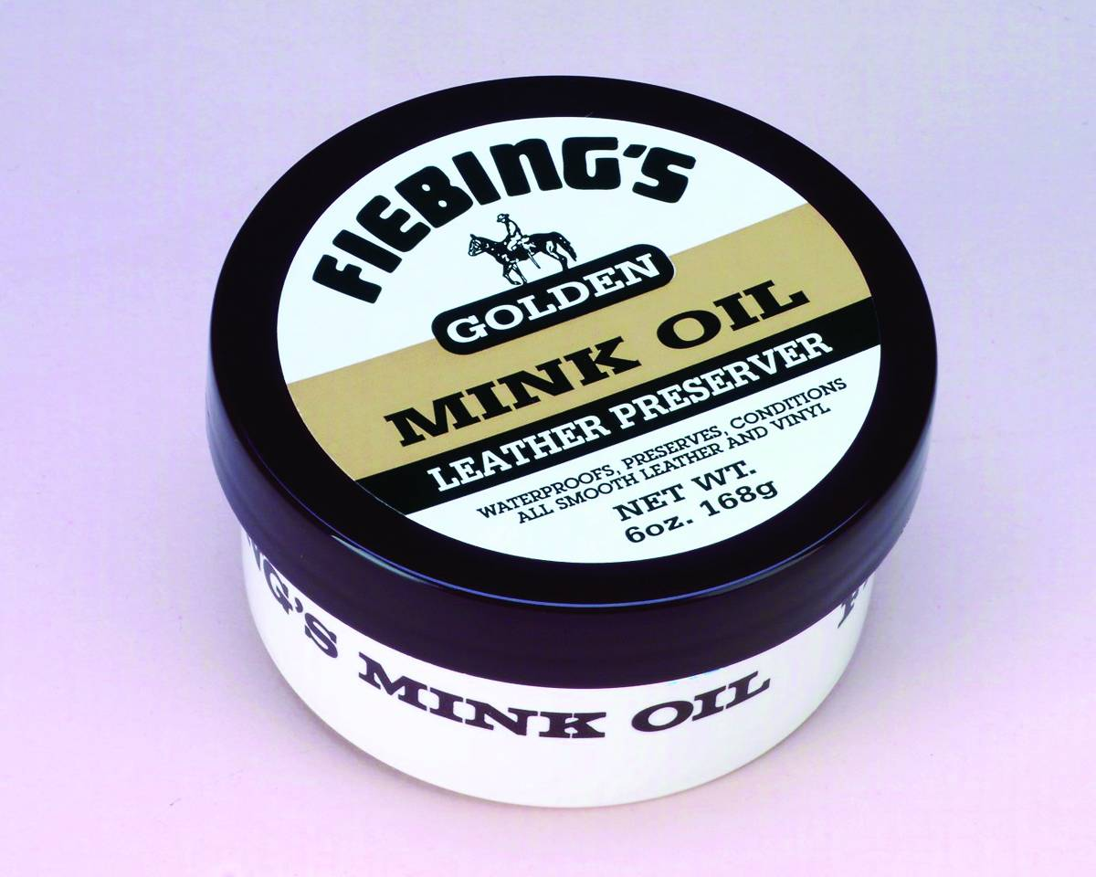 Fiebings Golden Mink Oil Leather Perservative