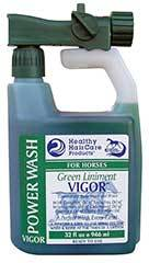 Healthy Haircare Vigor Horse Liniment with Sprayer Delivery System