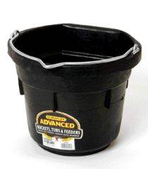 Flat Back Rubber Bucket Df8F