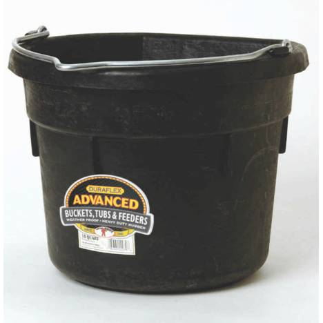 Flat Back Rubber Bucket Df18F