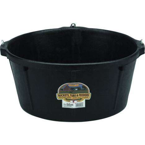 Little Giant Rubber Feeder Tub with Hooks