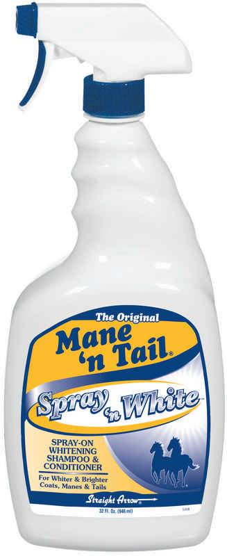 Mane n Tail Spray n White