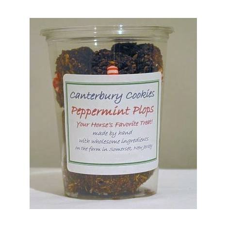 Canterbury Cookies Peppermint Plops Horse Treat