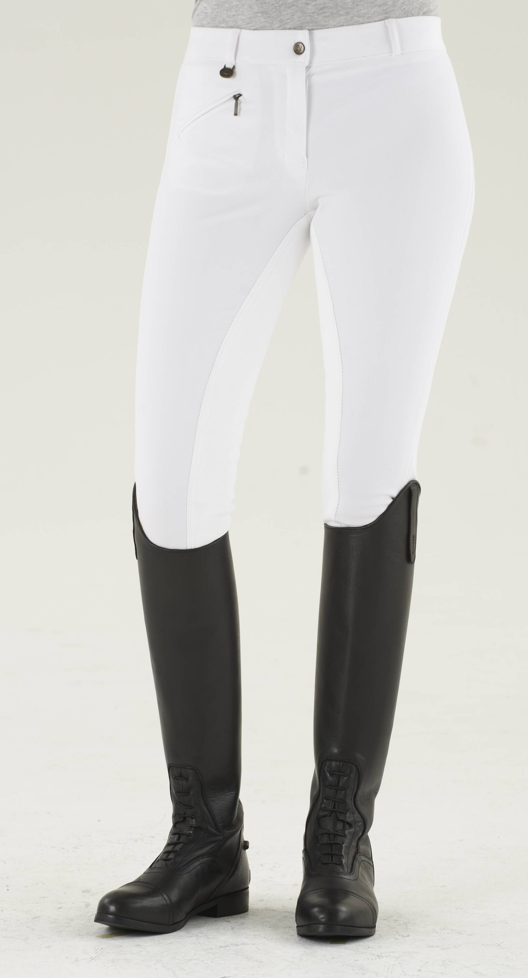 Ovation Ladies EuroWeave DX Full Seat Riding Breeches