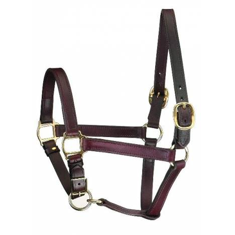 Perris Leather Track Style Turnout Halter