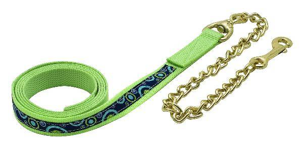 Perri's Ribbon Lead with Chain