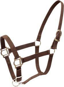 Abetta Duralon Halter with Adjustable Chin
