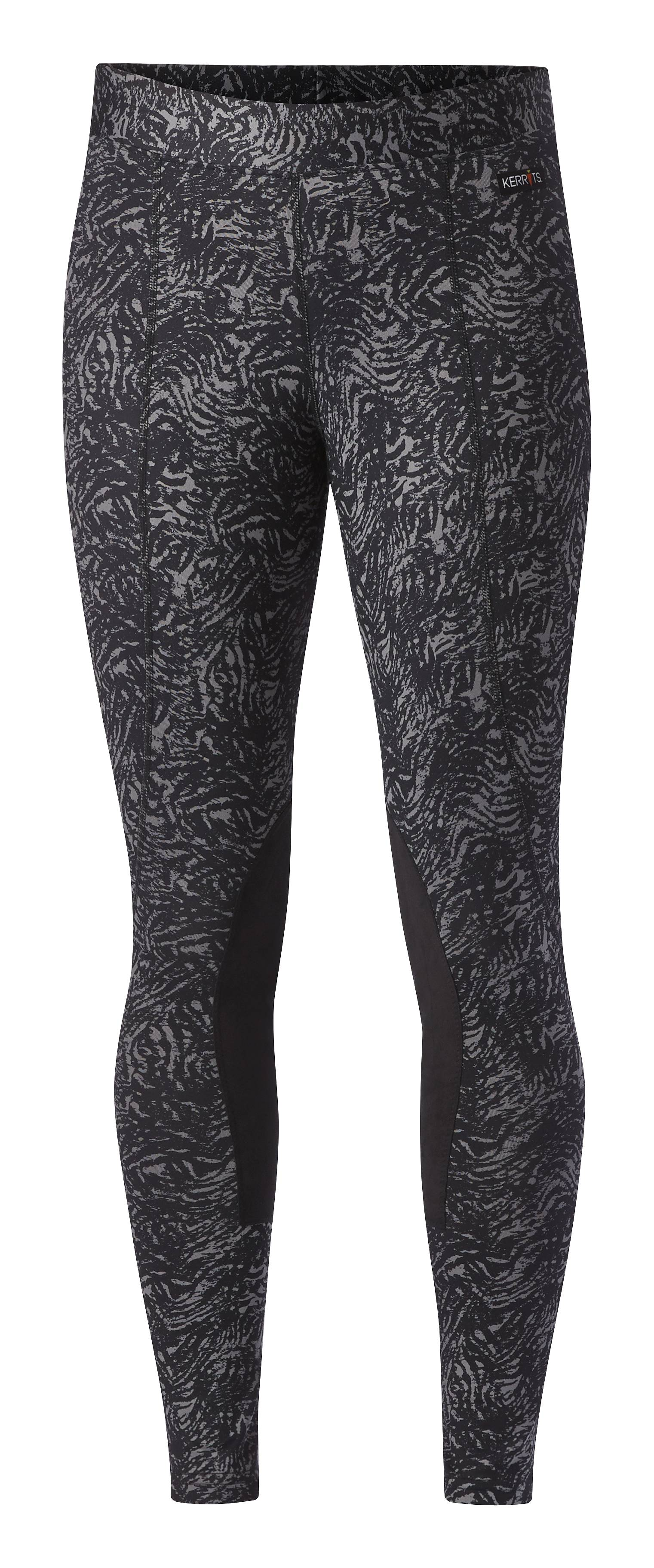Kerrits Flow Rise Performance Tights - Ladies, Kneepatch