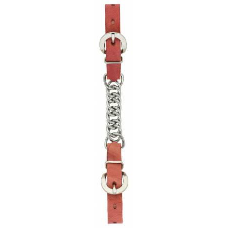 "Weaver 3 1/2"" Single Flat Link Chain Curb Strap"
