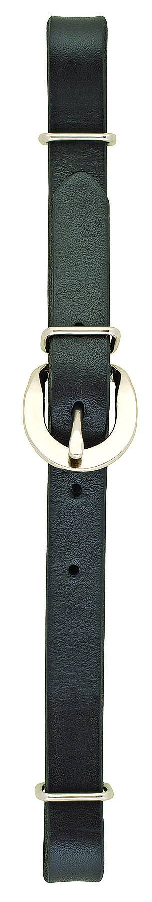 Weaver Straight Leather Curb Straps