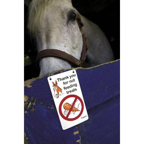 Kelley & Company Fergus ''Do Not Feed'' Stall Sign