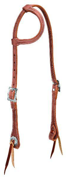 Weaver Stockman Flat Sliding Ear Headstall