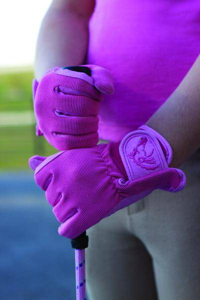 Pony Palooza Kids Two Tone Glove