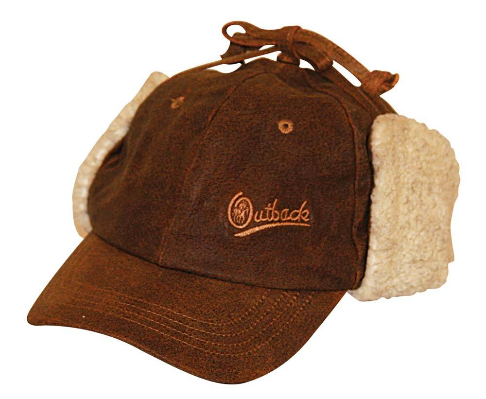 Outback Trading Leather McKinley Cap- Unisex