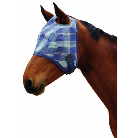 Kensington Protective Fly Mask with Webbing Trim - Draft