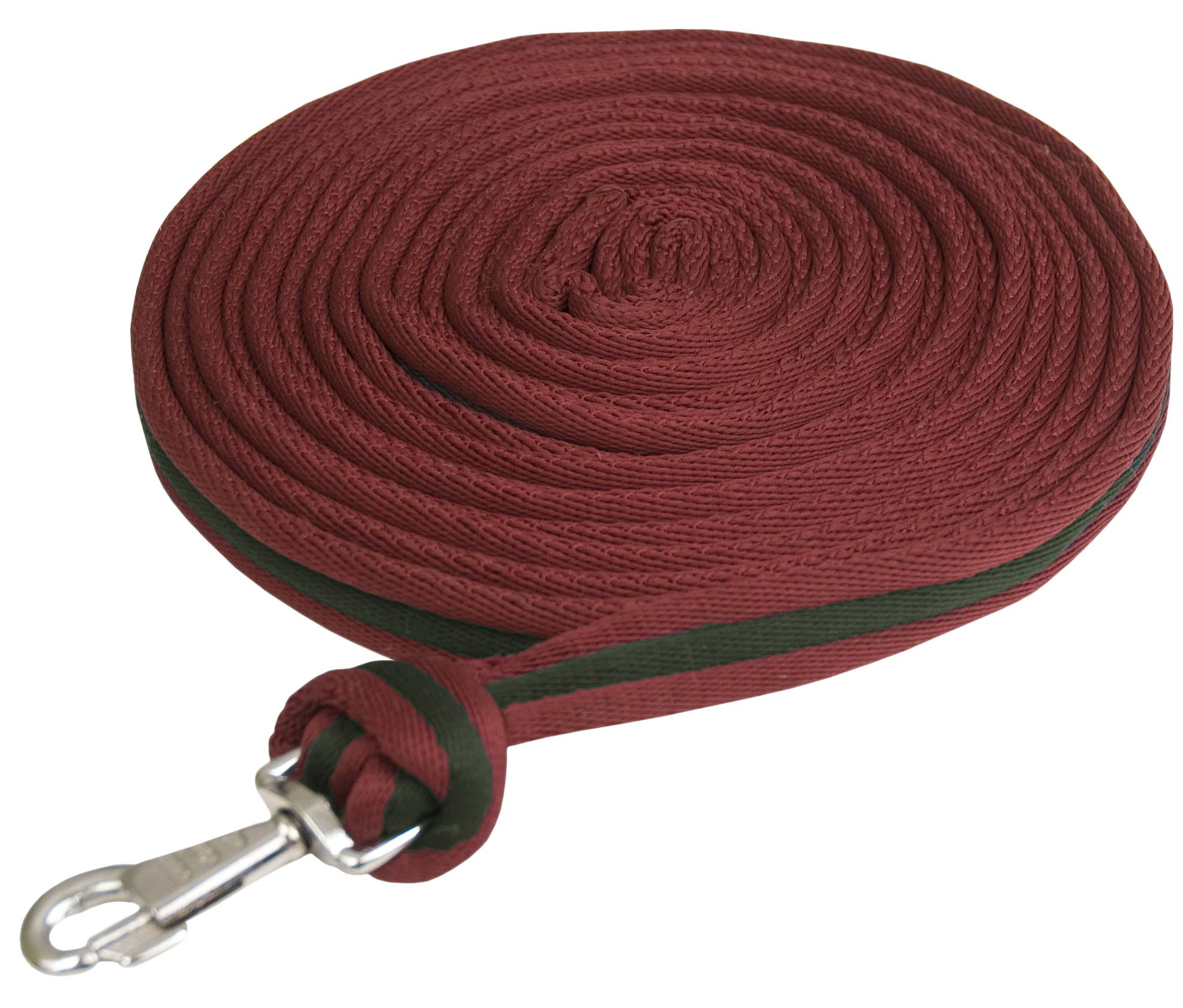 Gatsby Cushion Web Lunge Line with Loop Handle
