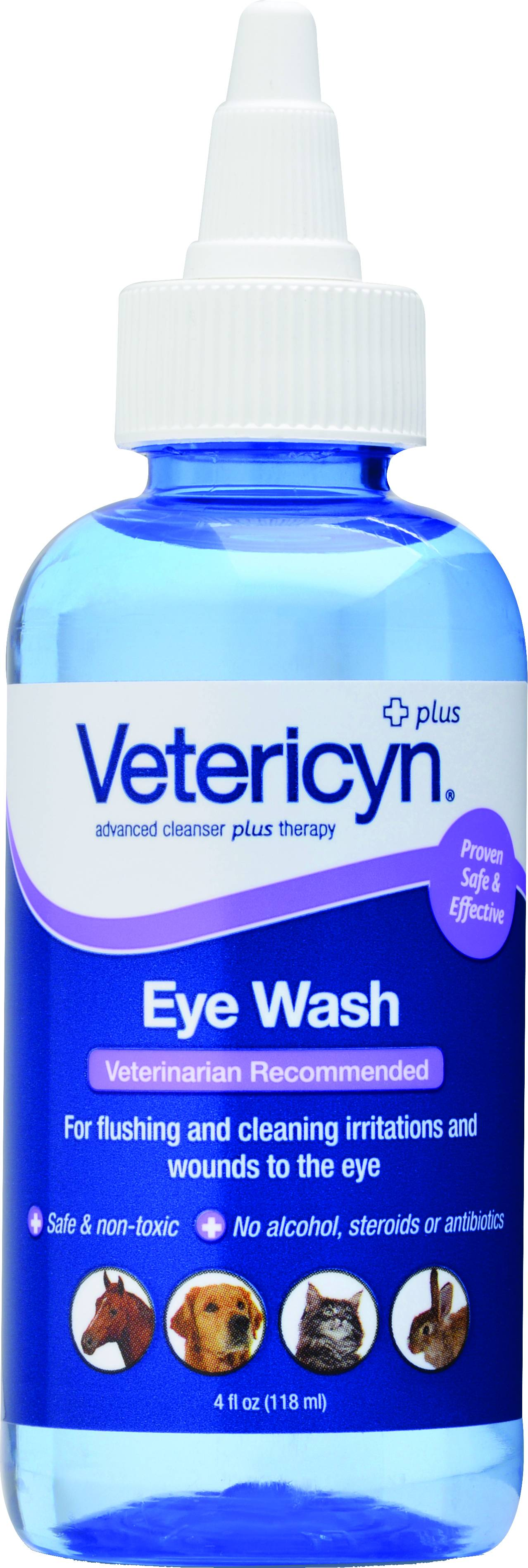 Vetericyn All Animal Eye Wash - 4 oz.