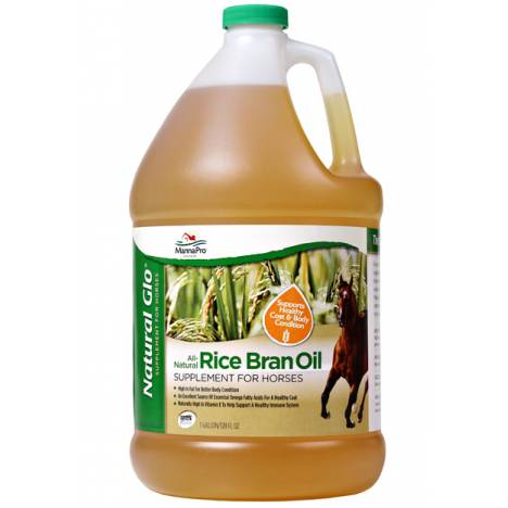 Manna Pro Natural Glo Rice Bran Oil - 1 gal.