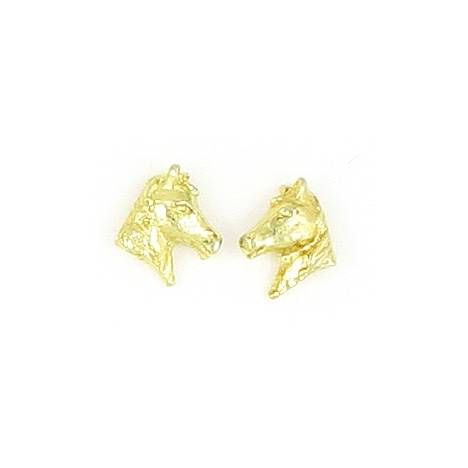 Finishing Touch 3-D Horse Head Earrings
