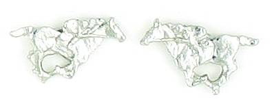 Finishing Touch Thoroughbred Racing Earrings