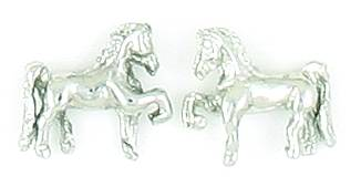 Finishing Touch Saddlebred 3-D Earrings