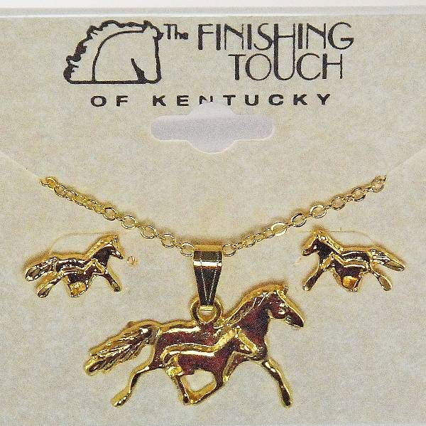 Finishing Touch Mare And Foal Gift Set