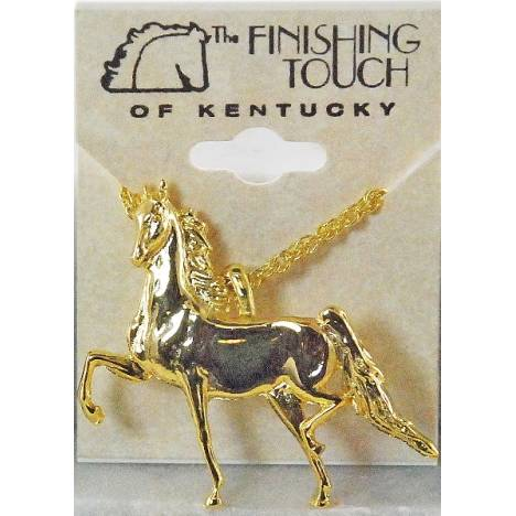 Finishing Touch Full Body Saddlebred Pendant Necklace