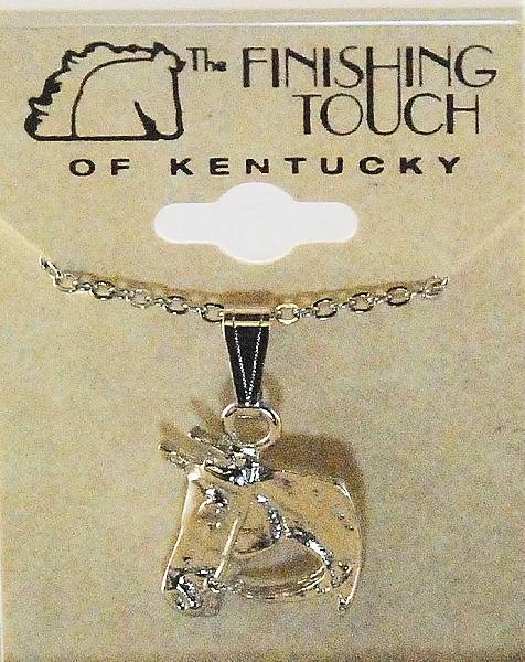 Finishing Touch Horse and Bridle Pendant