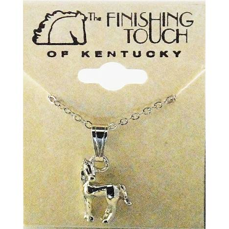 Finishing Touch Horse with Head Turned Pendant