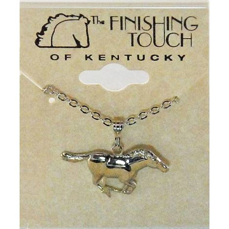 Finishing Touch Mustang Necklace