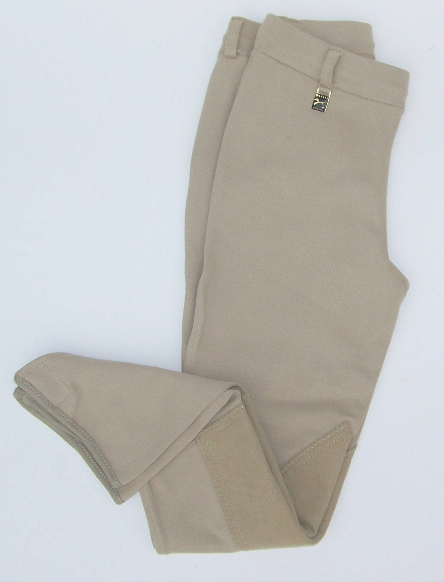 Equine Athletics Kids Pull On Breeches - Knee Patch