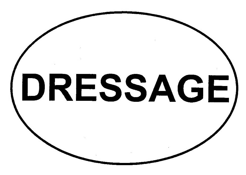 Euro Dressage (Letter) Decal
