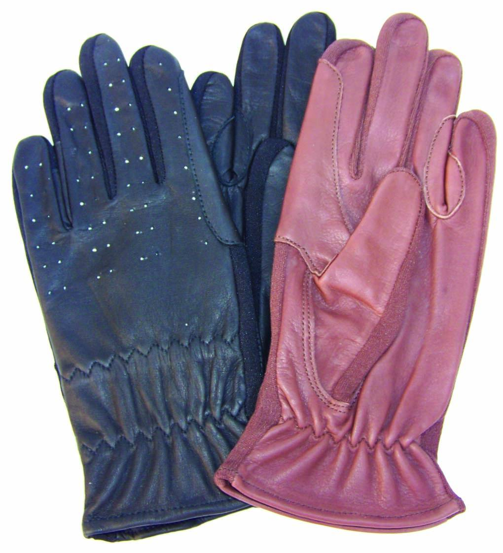 Men's Leather Show Gloves