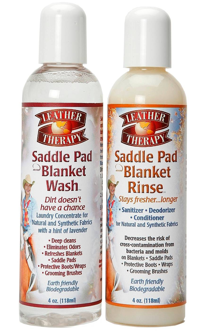 Leather Therapy Saddle Pad & Blanket Wash Gift Set