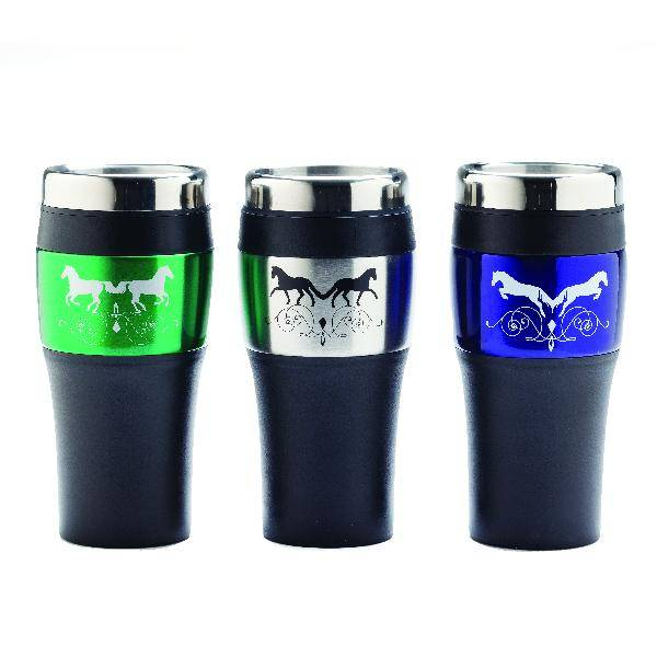 Kelley Galloping Scroll Duet Travel Mug