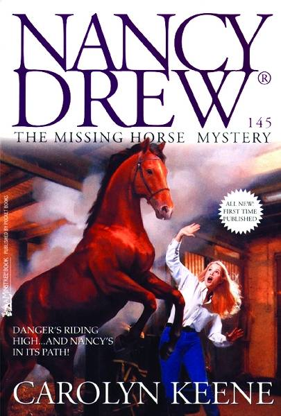 The Missing Horse Mystery by Carolyn Keene