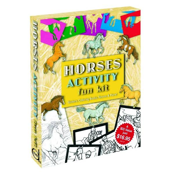 Kelley Horses Activity Fun Kit