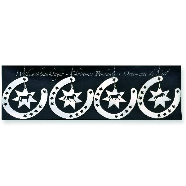 KY Horseshoe & Star Ornaments