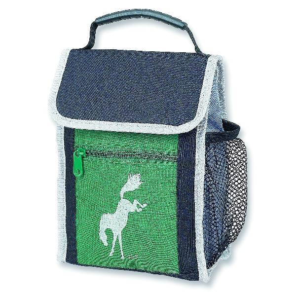 Kelley Bucking Horse Green Lunch Sack