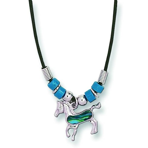 Kelley Prancing Horse Necklace
